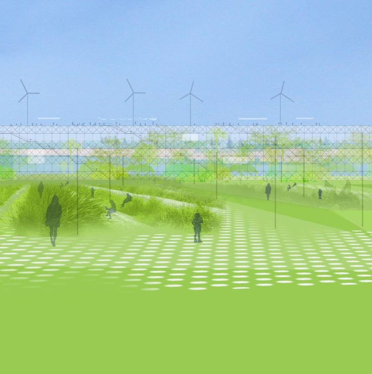 America's Cup Temporary Public Space by Ecosistema Urbano