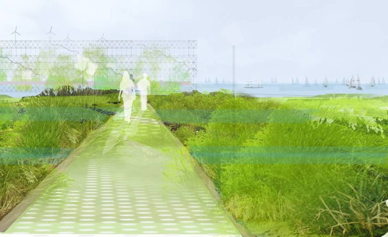 America's Cup Temporary Public Space by Ecosistema Urbano, sustainable architecture