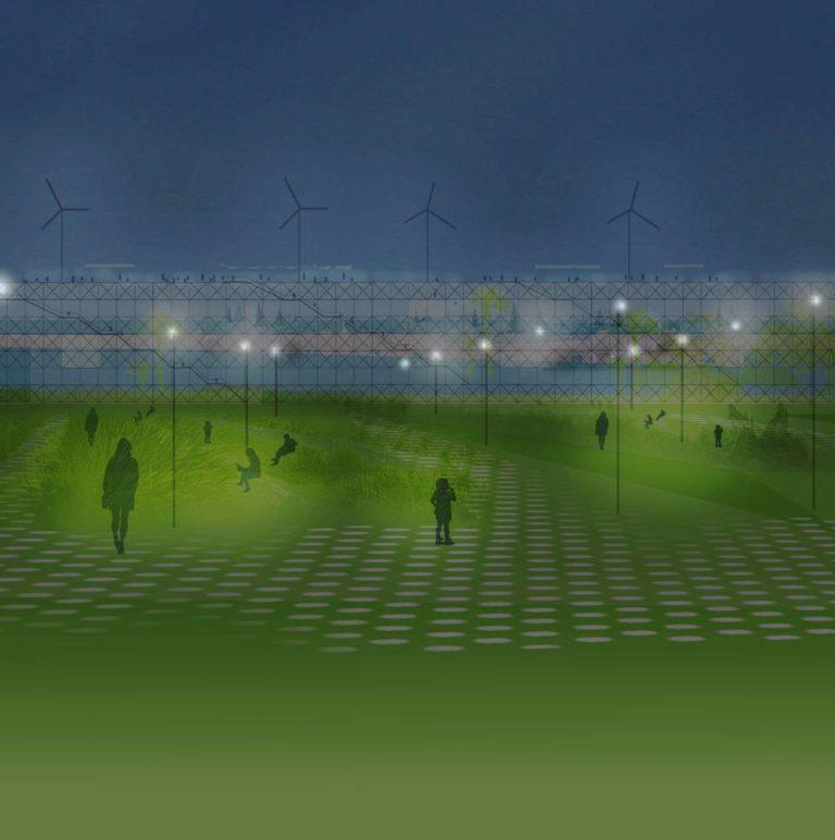 America's Cup Temporary Public Space by Ecosistema Urbano, urban social design,
