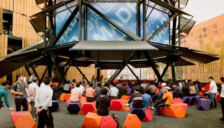 Air Tree, People friendly spaces, Shanghai, China, Ecosistema Urbano