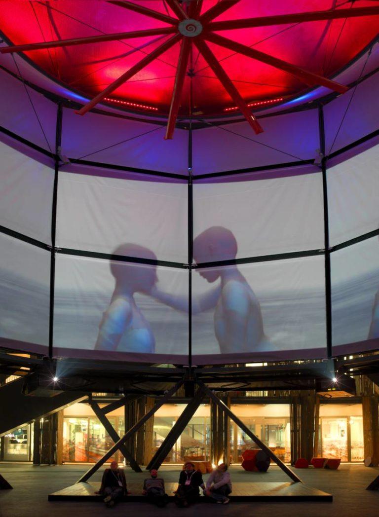 Air Tree, Interactive public spaces, Shanghai, China, Ecosistema Urbano