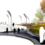 America's Cup Temporary Public Space by Ecosistema Urbano, responsive place
