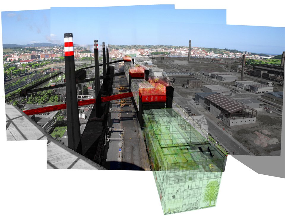 Resetting of an Industrial Area, Avilés, Spain, Ecosistema Urbano