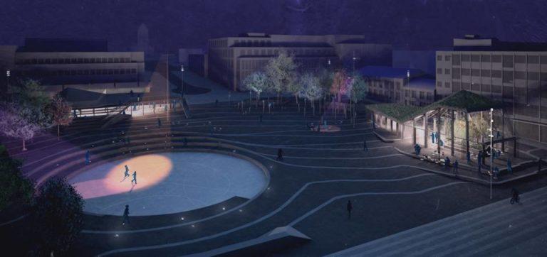 Dreamhamar, hamar square, norway, ecosistema urbano