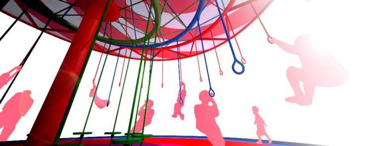 Energy Carousel, interactive public space, Dordrecht, ecosistema urbano