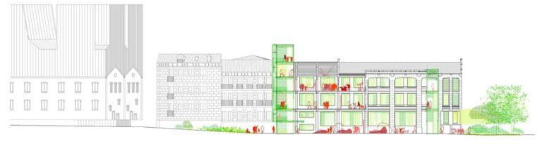 Intermediae Prado, Madrid, Ecosistema Urbano, responsive building