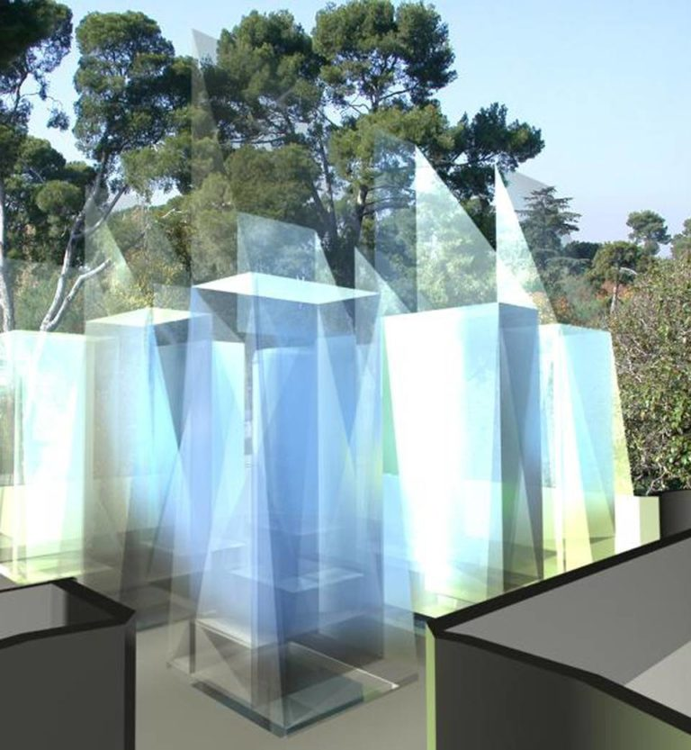 Hybrid Building, Meteorological Museum in Retiro Parl, Madrid by Ecosistema Urbano