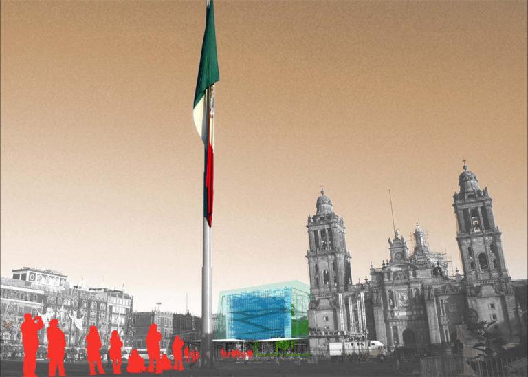 Oxygen Tree, Mexico DF, Ecosistema Urbano, outdoor bioclimatic design,