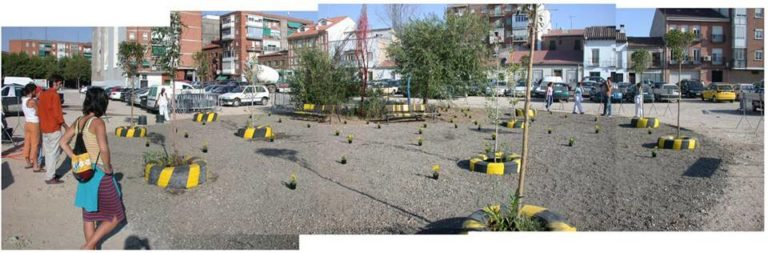 Parkeing: Design, coordination, strategy management and implementation by Ecosistema Urbano