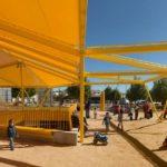 Ecópolis Plaza, adaptative architecture, madrid, Ecosistema Urbano