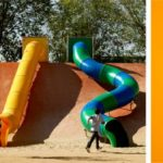 Ecópolis Plaza, playground, madrid, Ecosistema Urbano
