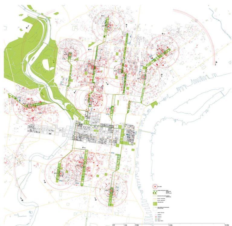 Plan, What if Philadelphia by Ecosistema Urbano, USA
