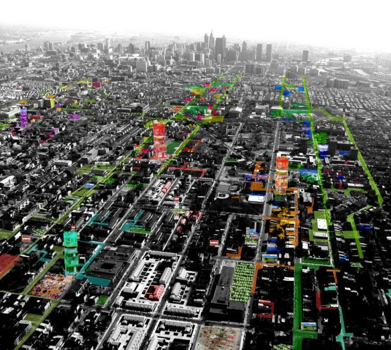 Urban Voids, What if Philadelphia by Ecosistema Urbano, USA