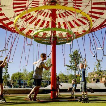 Energy Carousel, Dordrecht, interactive place, ecosistema urbano