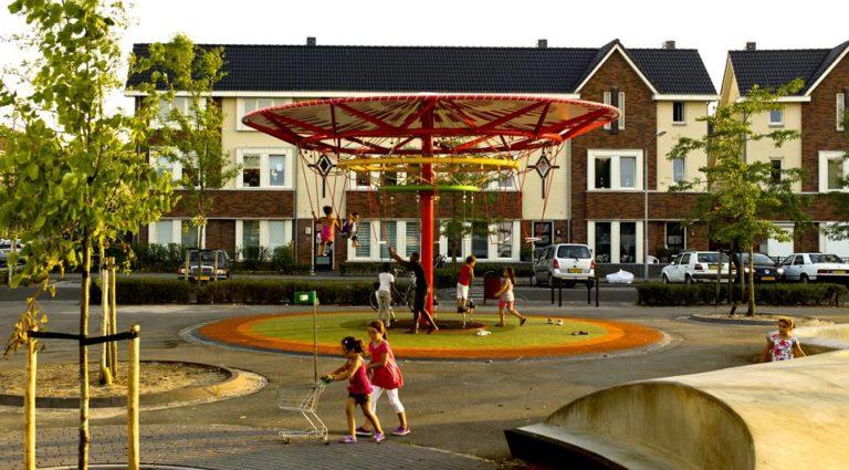 Energy Carousel, Hybrid architecture, Dordrecht, ecosistema urbano