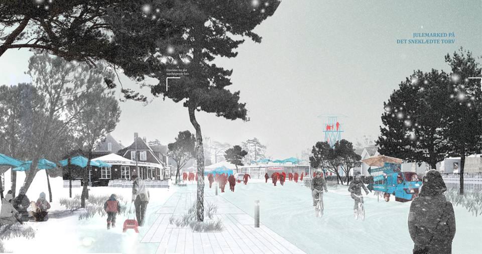 MARIELYST Strand, winter, Ecosistema Urbano
