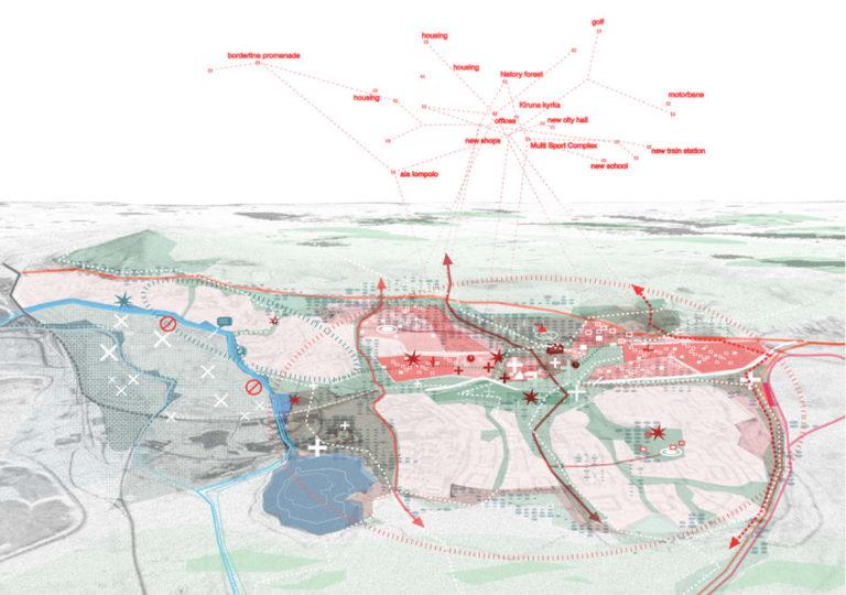MASTER PLAN FOR KIRUNA, Ecosistema Urbano, Sweden