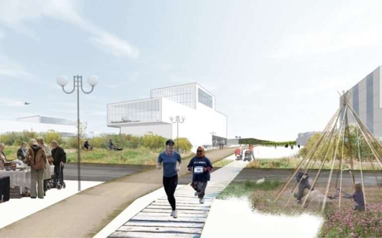 Kiruna new city centre2, masterplan, ecosistema urbano