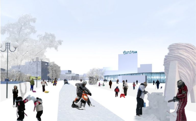 Kiruna new city centre3, masterplan, ecosistema urbano