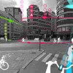 Smart public spaces, Bikeline, Oslo, Norway, Ecosistema Urbano