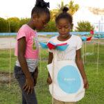 Exuma Origami garden, girls. ecosistema urbano