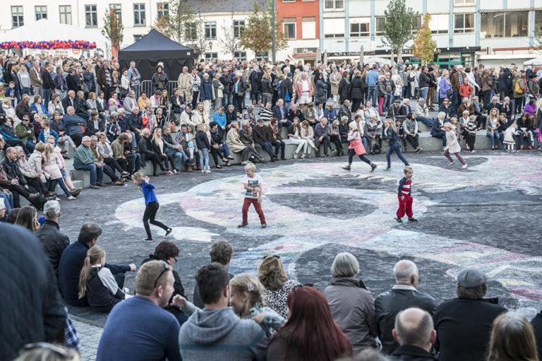 Opening ceremony, hamar square, ecosistema urbano