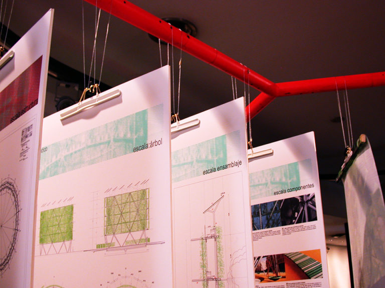Exhibition at the association of architects of Catalonia by Ecosistema Urbano 2