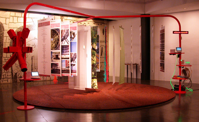 Exhibition at the association of architects of Catalonia by Ecosistema Urbano 1