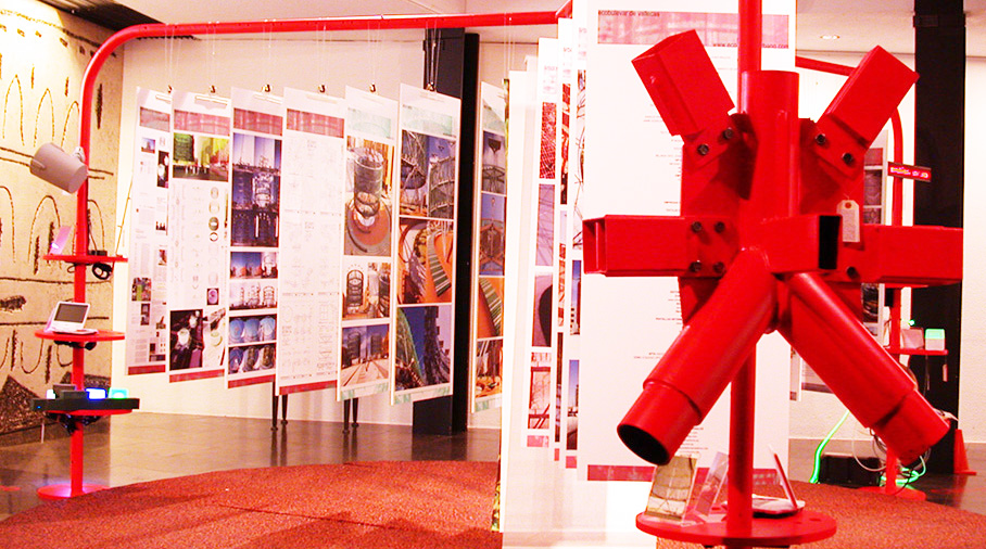 Exhibition at the association of architects of Catalonia by Ecosistema Urbano