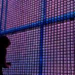 Galicia Pavilion at Zaragoza Expo 2008 by Ecosistema Urbano, water screen