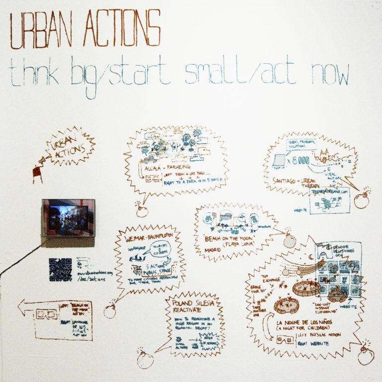 Urban Actions, Formula X Exhibition at DAZ by Ecosistema Urbano