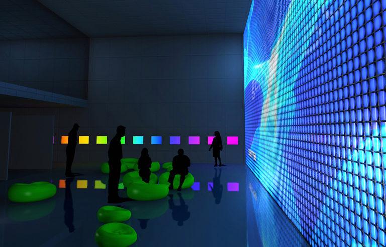 Galicia Pavilion at Zaragoza Expo 2008 by Ecosistema Urbano, screen of water