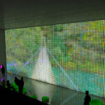 Galicia Pavilion at Zaragoza Expo 2008 by Ecosistema Urbano, screen of water 2