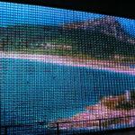 Galicia Pavilion at Zaragoza Expo 2008 by Ecosistema Urbano, screen made of water from galicia
