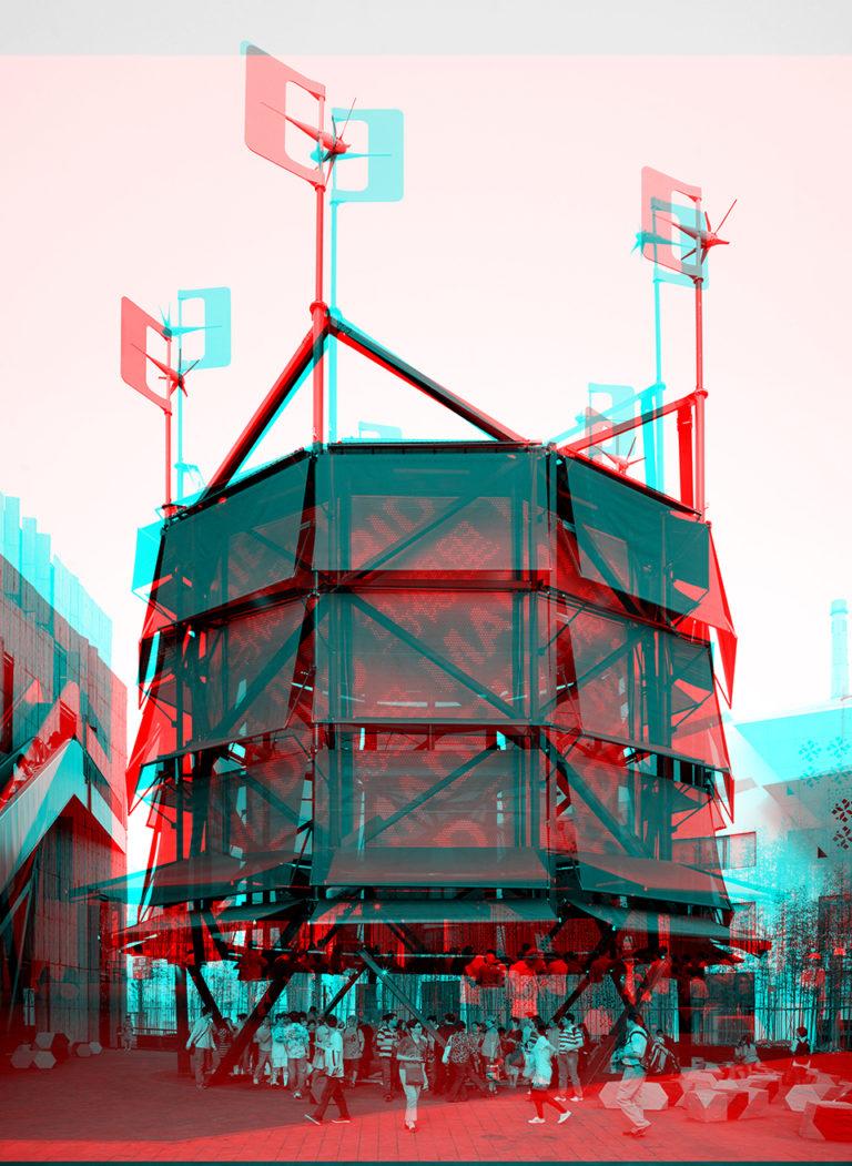 Air Tree, Formula X Exhibition at DAZ by Ecosistema Urbano