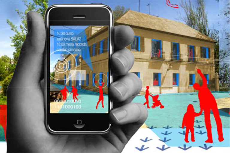 Augmented reality, Casa Vargas Urban reactivation, ecosistema urbano,