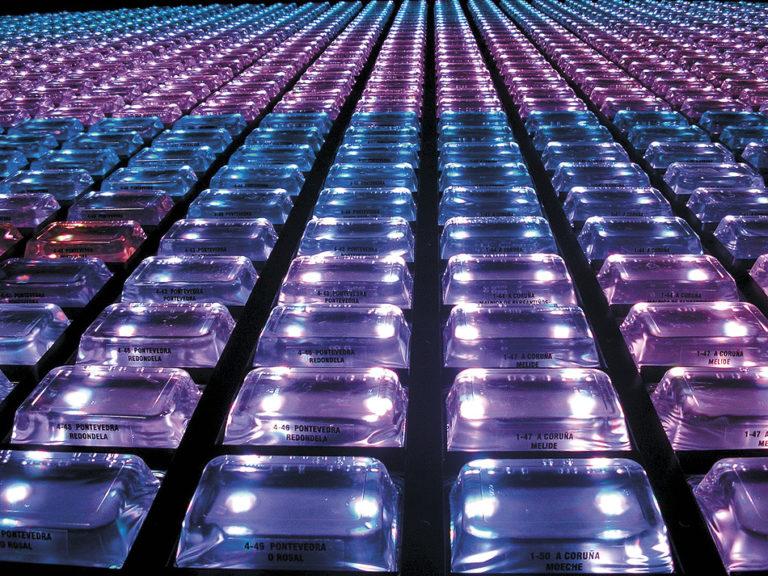 Galicia Pavilion at Zaragoza Expo 2008 by Ecosistema Urbano, types of waters