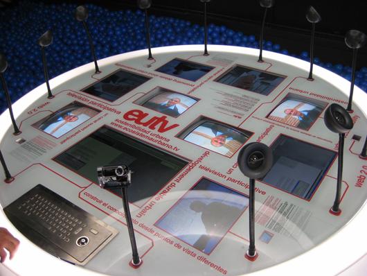 Exhibition, EU TV EXPO by Ecosistema Urbano