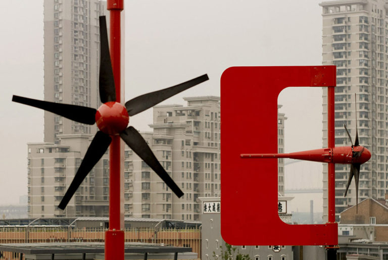 Aerogenerators, Windmills, Air Tree, Ecosistema Urbano
