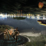 Leisure Island, night view, ecosistema urbano