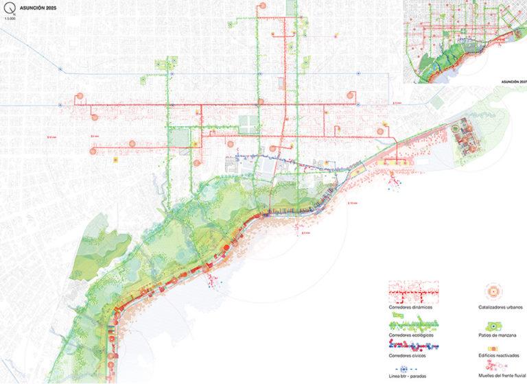 proposed plan - asuncion - ecosistema urbano