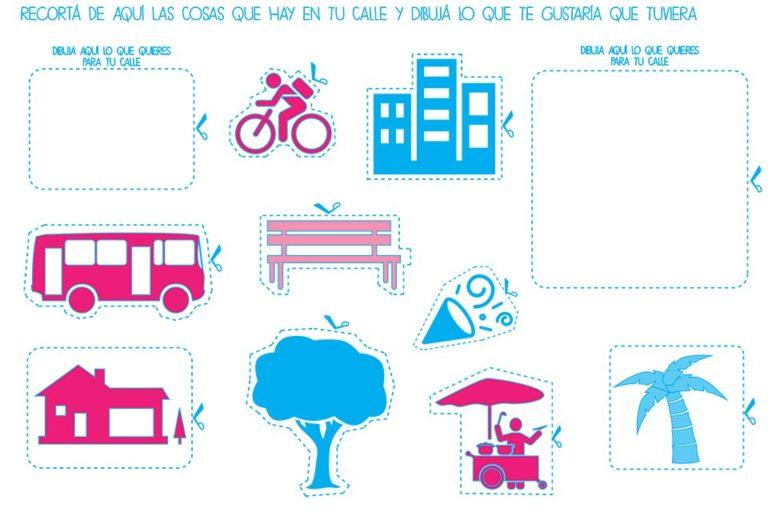 School Kids participatory tool kit, Asuncion, Paraguay. Ecosistema Urbano