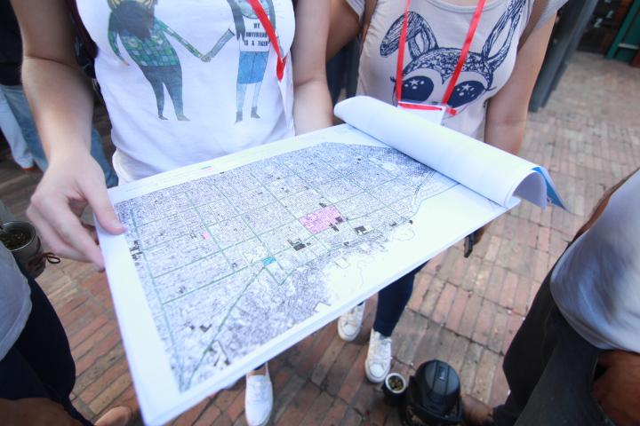 Mapping, Asulab, city lab, Ecosistema urbano