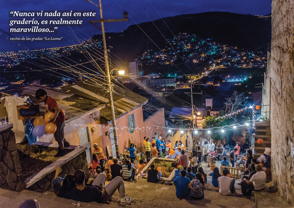Urban action - tegucigalpa - night activity - ecosistema urbano