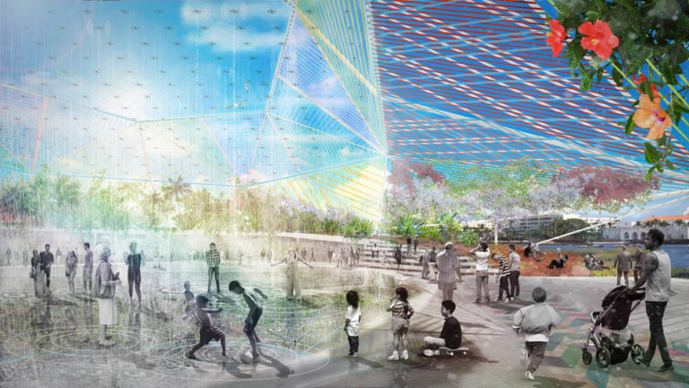 Rainplaza - Open Shore - Ecosistema Urbano