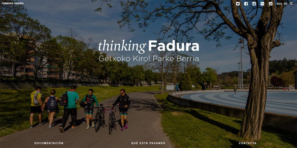 Thinking Fadura website