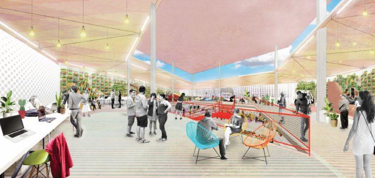 Banco de Ideas interior by Ecosistema Urbano