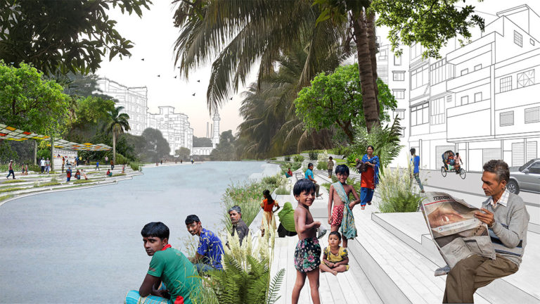 Dhaka NATURAL OPEN SPACES by Ecosistema Urbano