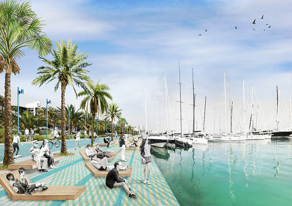 Harbor Waterfront in Palma by Ecosistema Urbano
