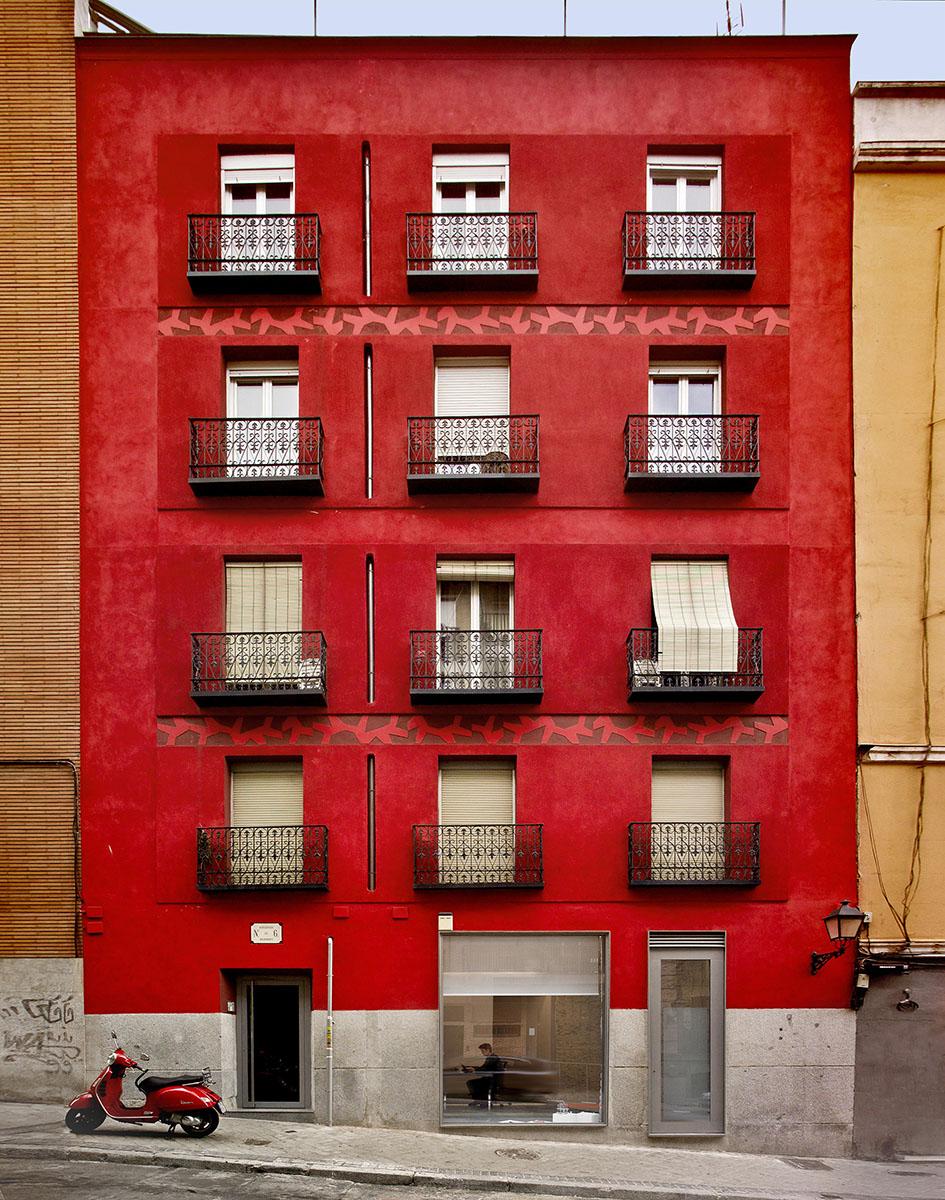 Fachada de la oficina de Ecosistema Urbano - Madrid
